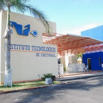 Trabajadores del Tecnológico de Chetumal se unen al paro nacional de labores; exigen un sistema educativo de calidad, plazas y apoyos laborales