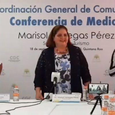 """Marisol Vanegas califica su desempeño en la Sedetur de """"excelente""""; asegura que cuenta con el apoyo empresarial del estado"""