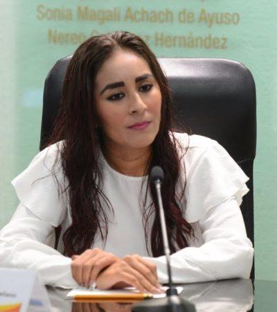 Hay un avance del 50% en la aplicación de 9 mdp en BJ y Solidaridad para prevenir el delito y la violencia, afirma la subsecretaria de Gobierno, Claudette  González