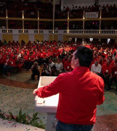 GOBERNADOR DE CAMPECHE SE LE PONE AL 'BRINCO' A AMLO: 'Alito' Moreno le declara la guerra al nuevo gobierno y anuncia marchas y plantones