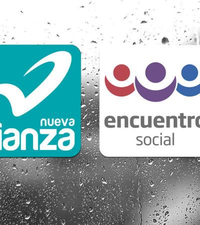 Confirma Junta General Ejecutiva pérdida del registro de los partidos Nueva Alianza y Encuentro Social