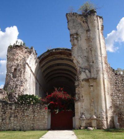 Declaratoria de zona de monumentos por el INAH para Tihosuco será positiva, si se incluye a la comunidad, dice catedrático