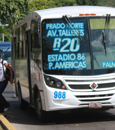 Rompeolas Extra: Sigue el estira y afloja por la prórroga a las concesiones del transporte en Cancún