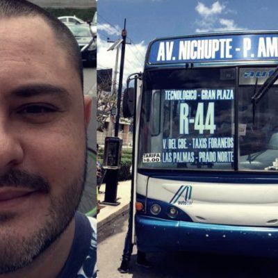 """""""NO HAY UNA EXPLICACIÓN RAZONABLE… LO HICIERON EN LO OSCURITO"""": Cuestiona Issac Janix prórroga a concesiones del transporte en Cancún; advierte que rechazará alza de tarifas si no se mejora el servicio"""