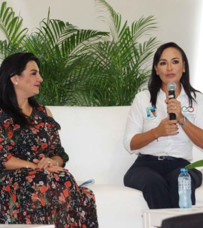 Participa Laura Fernández en el conversatorio 'Retos y oportunidades de la mujer en la política', organizado por el IQM