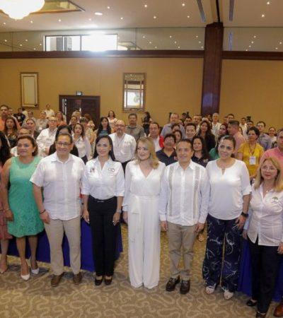Reafirma Laura Fernández su compromiso de brindar atención a grupos vulnerables de Puerto Morelos