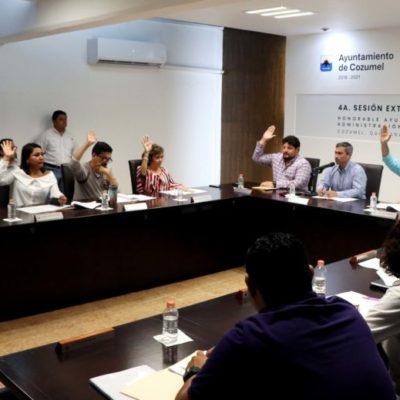 En sesión extraordinaria, aprueba Cabildo de Cozumel suprimir residencia de cinco años para elegir al Fiscal General del Estado