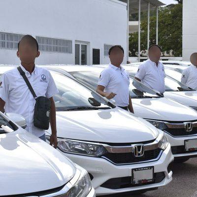 Entregan vehículos a personal de la Fiscalía Anticorrupción