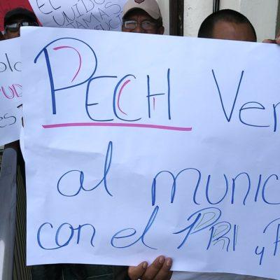 CRISIS POLÍTICA EN CHETUMAL: Realizan manifestación en defensa del Alcalde Hernán Pastrana para que cesen presiones externas que están provocando ingobernabilidad