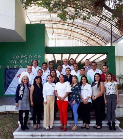 Arquitectos quintanarroenses buscarán sumarse al proyecto del Tren Maya