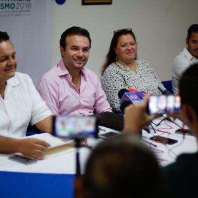 Anuncia Pedro Joaquín la realización del 3er Congreso Nacional de Competitividad y Turismo 2018 en Cozumel