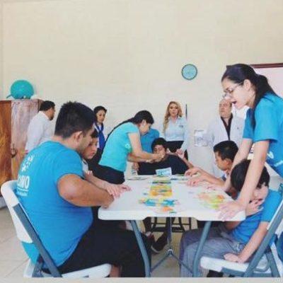 La fundación Kodomo cuenta con una escuela para niños autistas que no tienen posibilidad de estudiar