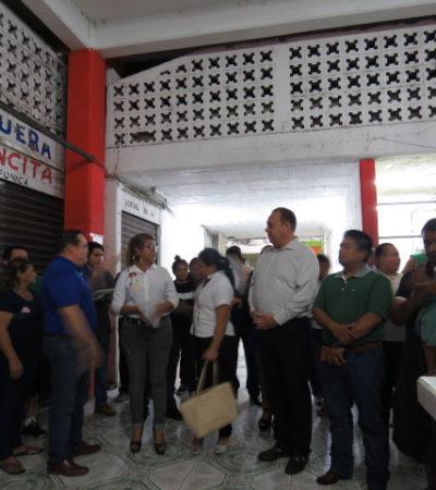 Gobierno de Carrillo Puerto realizarán mejoramiento del mercado municipal para convertirlo en un atractivo turístico