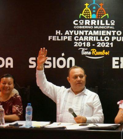 En sesión extraordinaria, Cabildo de FCP aprueba convocatoria para elecciones en cuatro alcaldías y cinco delegaciones