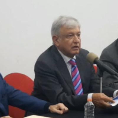 CONFIRMA AMLO CANCELACIÓN DE AEROPUERTO EN TEXCOCO: Anuncia construcción de dos pistas en Santa Lucía, mejoría en el AICM y reactivación del aeropuerto en Toluca