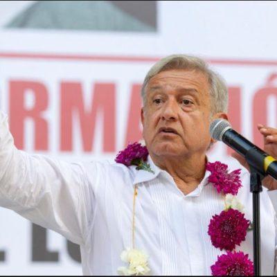Estará hoy AMLO en Yucatán, se reunirá con el gobernador panista Vila Dosal y otros actores políticos