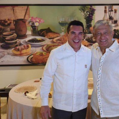Serán de confianza los primeros empleados de Pemex en mudarse a Campeche, dice AMLO luego de reunión con Alito