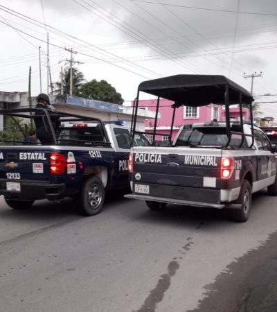 Sujeto armado amenaza a anciano en Cozumel