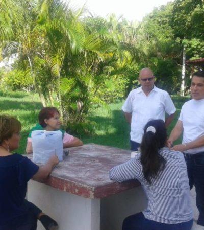Vecinos de Las Américas logran obtener un espacio público para la creación de palapas, andadores y cancha deportiva