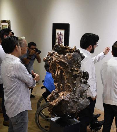 VISITE 'EXPO DUARTE': Exhiben las obras artísticas incautadas al exgobernador de Veracruz