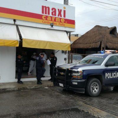 Asaltan un Maxicarnes en Chetumal