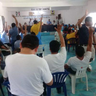 Prometen auditoría en sindicato de taxistas de Nuevo Xcan
