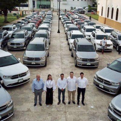 Aplica Vila austeridad entregando autos de lujo arrendados; contratos ya estaban vencidos o por vencer, según Banorte