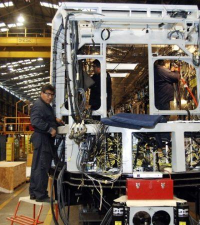 Adelanta AMLO que vagones del Tren Maya se construirán en Ciudad Sahagún, Hidalgo