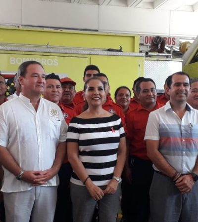 Regresa Thomas Hurtado a bomberos de Cancún, ex funcionario de Paul Carrillo