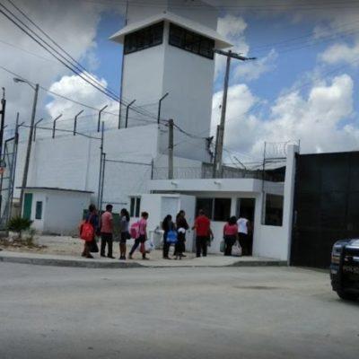 Inicia la CDHEQROO revisión en la cárcel de Cancún para verificar el cumplimiento de recomendaciones realizadas luego del traslado de reos a otros estados