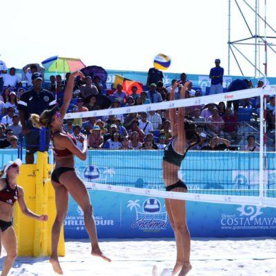 QUIEREN QUE SE REPITA EL PRÓXIMO AÑO: Torneo Mundial de Voleibol eleva la ocupación hotelera en Chetumal hasta 70 por ciento