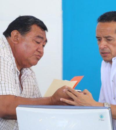 Ofrece Carlos Joaquín audiencia pública en Isla Mujeres
