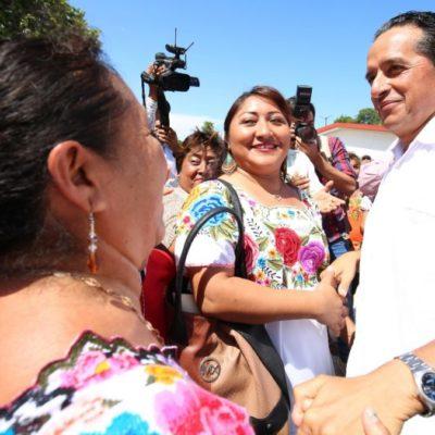 Invierten este año más de 211 mdp para mejorar la imagen urbana de 30 comunidades rurales en Quintana Roo