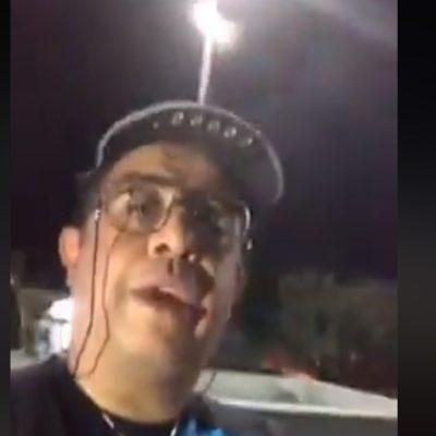 Carlos Eduardo Rico, comediante mexicano, exhibe y denuncia abuso de autoridad de elementos de tránsito de Cancún mientras se encontraba vacacionando (VIDEO)