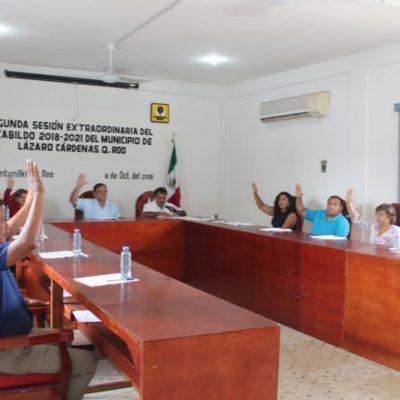 Aprueba Cabildo que ejidatario reciba medalla al mérito ciudadano 'Terencio Tah Quetzal', por gestionar la introducción de energía eléctrica en Kantunilkín, en 1950