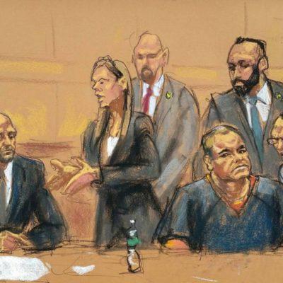 Discrepan defensa y Corte Federal de EU a días del juicio contra 'El Chapo' Guzmán