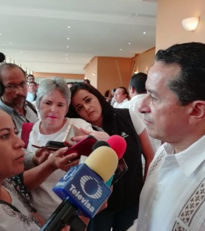Propondrá Carlos Joaquín modificar derecho de Zofemat