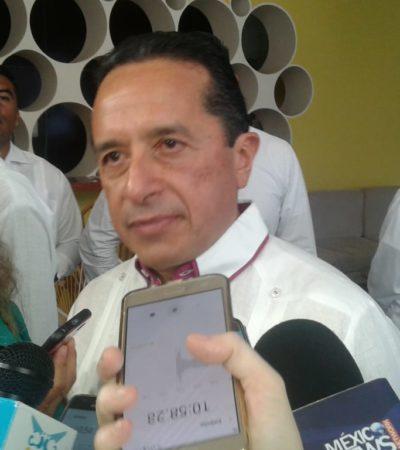 """""""El mando único no tiene fecha aún, pero va bien y todos los presidentes municipales están de acuerdo"""", dice Carlos Joaquín"""