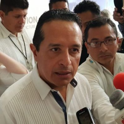 Acepta Carlos Joaquín que por redireccionar recursos federales, el Estado tendrá que devolver el dinero destinado a Xcabal a la Federación