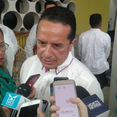 Da Gobernador Carlos Joaquín respaldo a la consulta para definir el nuevo aeropuerto de la CDMX