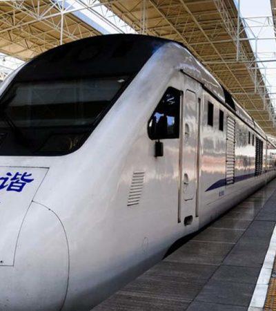 Empresas chinas, deseosas de participar en Tren Maya asegura funcionario de la cancillería asiática