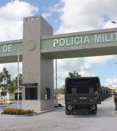 Entra en operaciones este martes la X Brigada de la Policía Militar