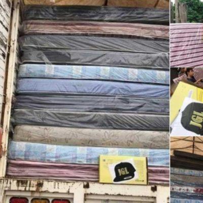 Atribuyen a 'El Chapo' entrega de colchones y parrillas a damnificados por lluvias en Sinaloa