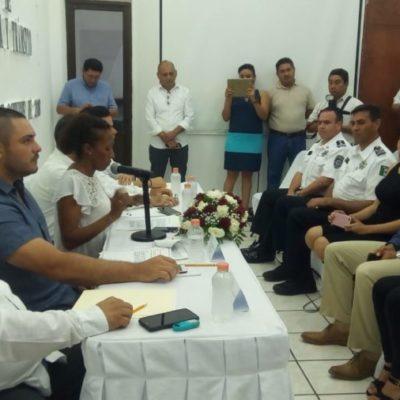 """""""Hay que dignificar el oficio del policía"""", dicen regidores de la comisión de Seguridad Pública de BJ"""