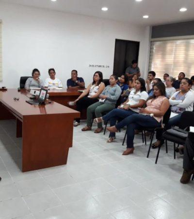 Servidores públicos de Tulum reciben capacitación del Iapqroo