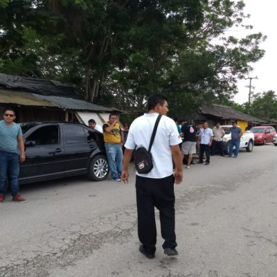 Resurge conflicto taxista entre Carrillo Puerto y Tulum