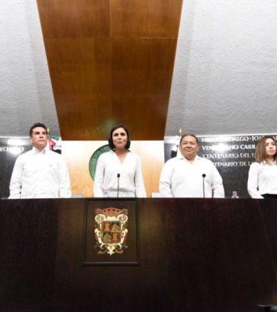 'CHAMAQUEADOS': Deja ir Morena acuerdo con PAN para presidir Congreso de Campeche y se somete al PRI