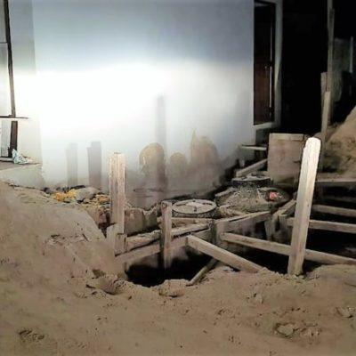 Denuncian construcción sobre dunas costeras en Holbox