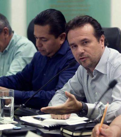 Se reúne Pedro Joaquín con diputados de las comisiones de Hacienda y Asuntos Municipales para exponer el caso de la reestructura de la deuda pública de Cozumel