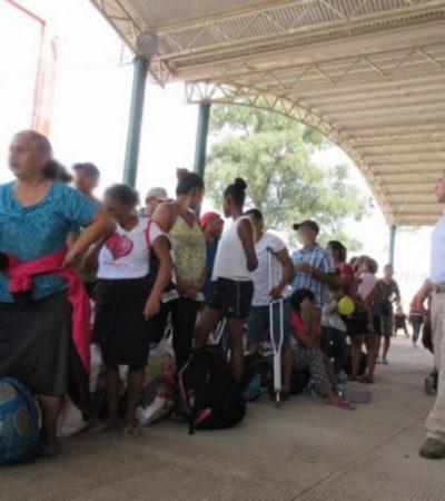 Ya se entregaron más de 100 CURP's temporales a migrantes, confirma Gobernación